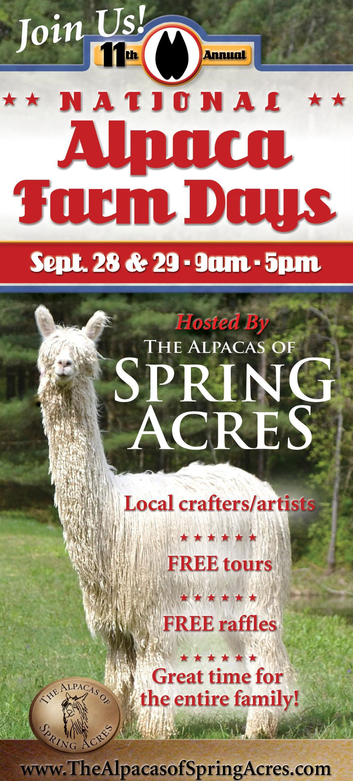 National-Alpaca-Farm-Days-Alpacas-Spring-Acres-September-24-25-Adamsville-Ohio
